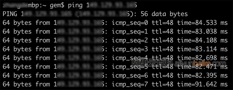 阿里云香港轻量服务器联通移动直连电信绕路?来测试一下-阿里云轻量服务器